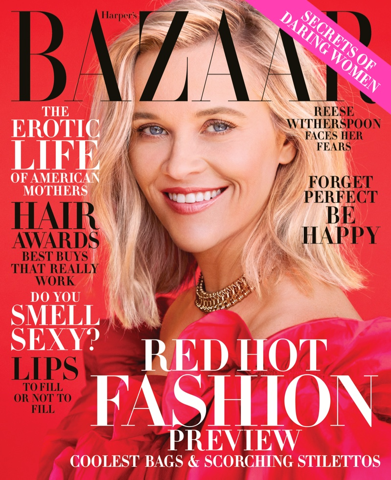 Reese Witherspoon on Harper's Bazaar US November 2019 Cover