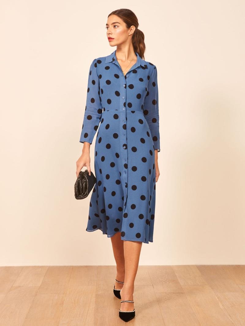 Reformation Arcadia Dress in Porto $248