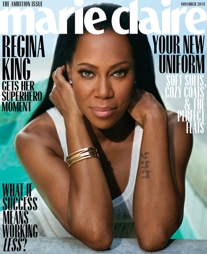 Regina King on Marie Claire US November 2019 Cover