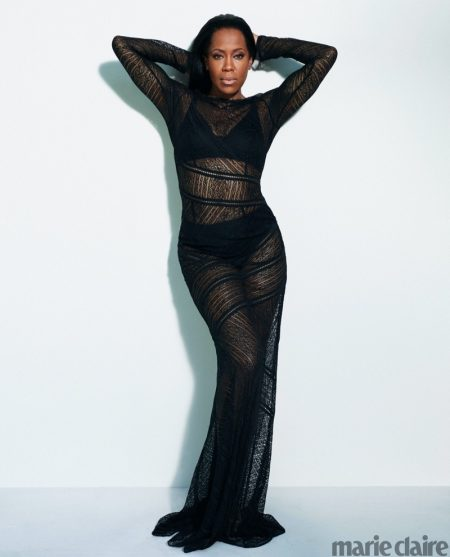 'Watchmen' Star Regina King Poses for Marie Claire