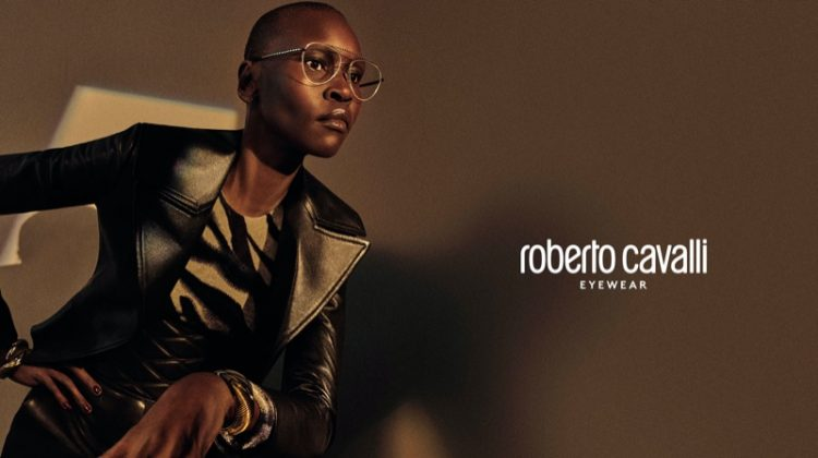 Alek Wek stars in Roberto Cavalli fall-winter 2019 campaign