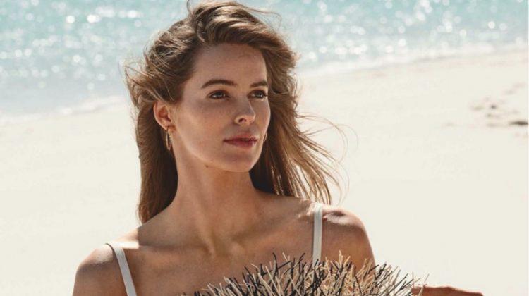 Robyn Lawley Embraces Beach Fashion for InStyle Australia