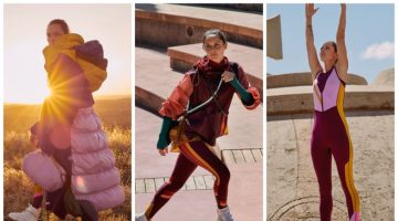 Roksanda x lululemon clothing collaboration