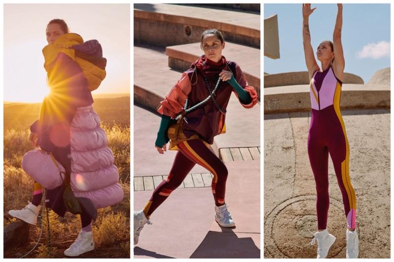 Roksanda x lululemon clothing collaboration