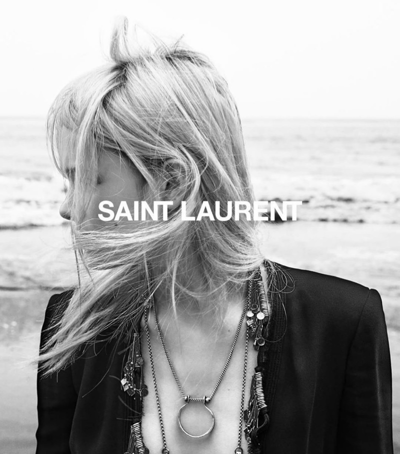 Gray Sorrenti photographs Saint Laurent spring-summer 2020 campaign