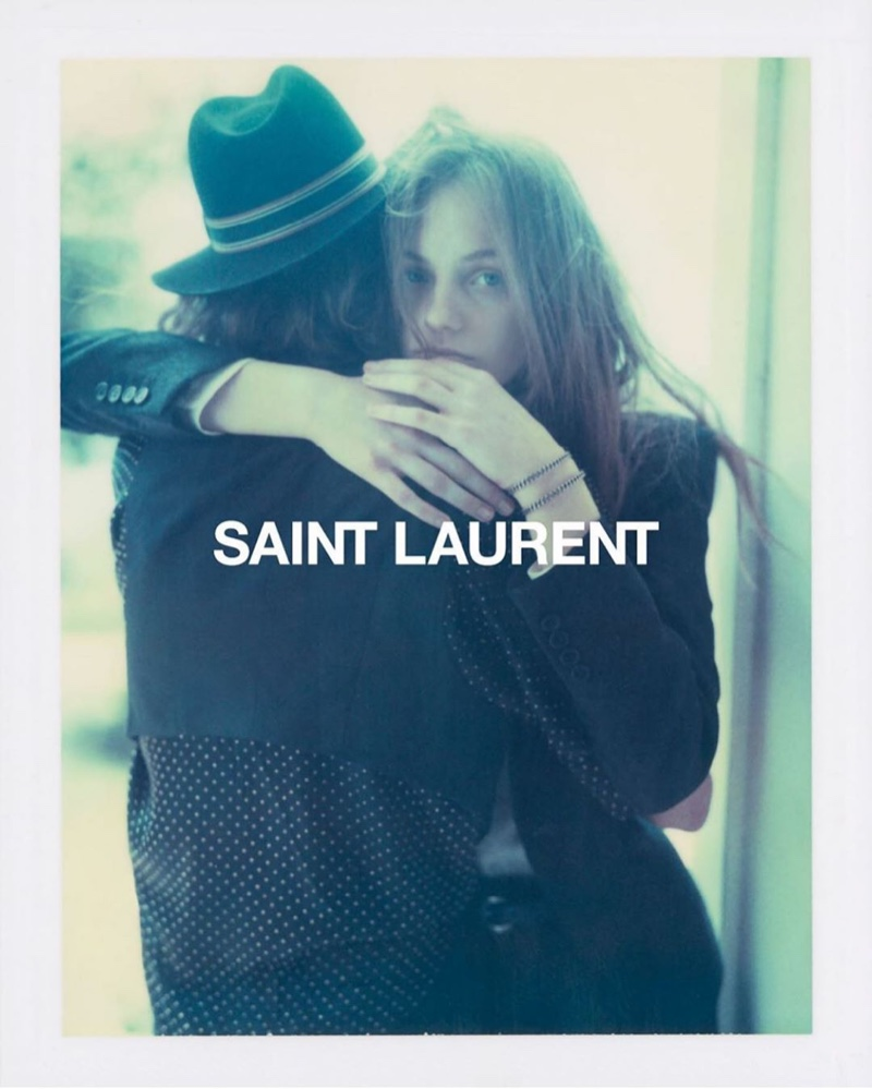Fran Summers embraces Erin Mommsen for Saint Laurent spring-summer 2020 campaign