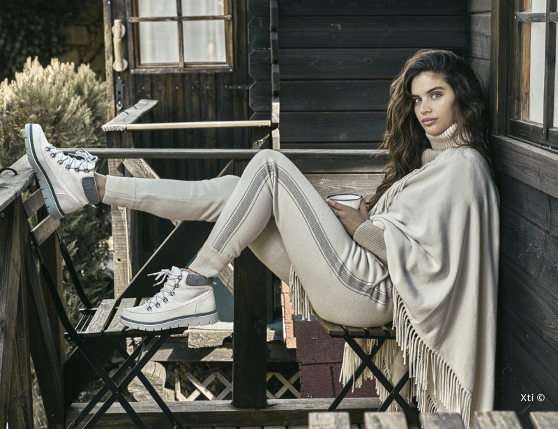 XTI Shoes enlists Sara Sampaio for fall-winter 2019 campaign
