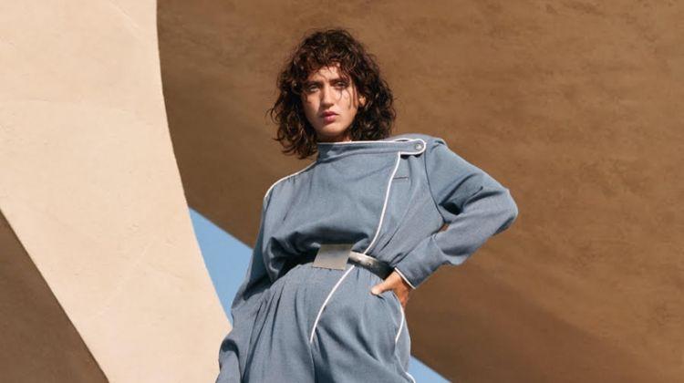 Sofia Fanego Looks Sleek in Louis Vuitton for Harper's Bazaar Ukraine
