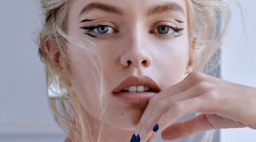 Stella Maxwell Wears On-Trend Beauty for Vogue Taiwan