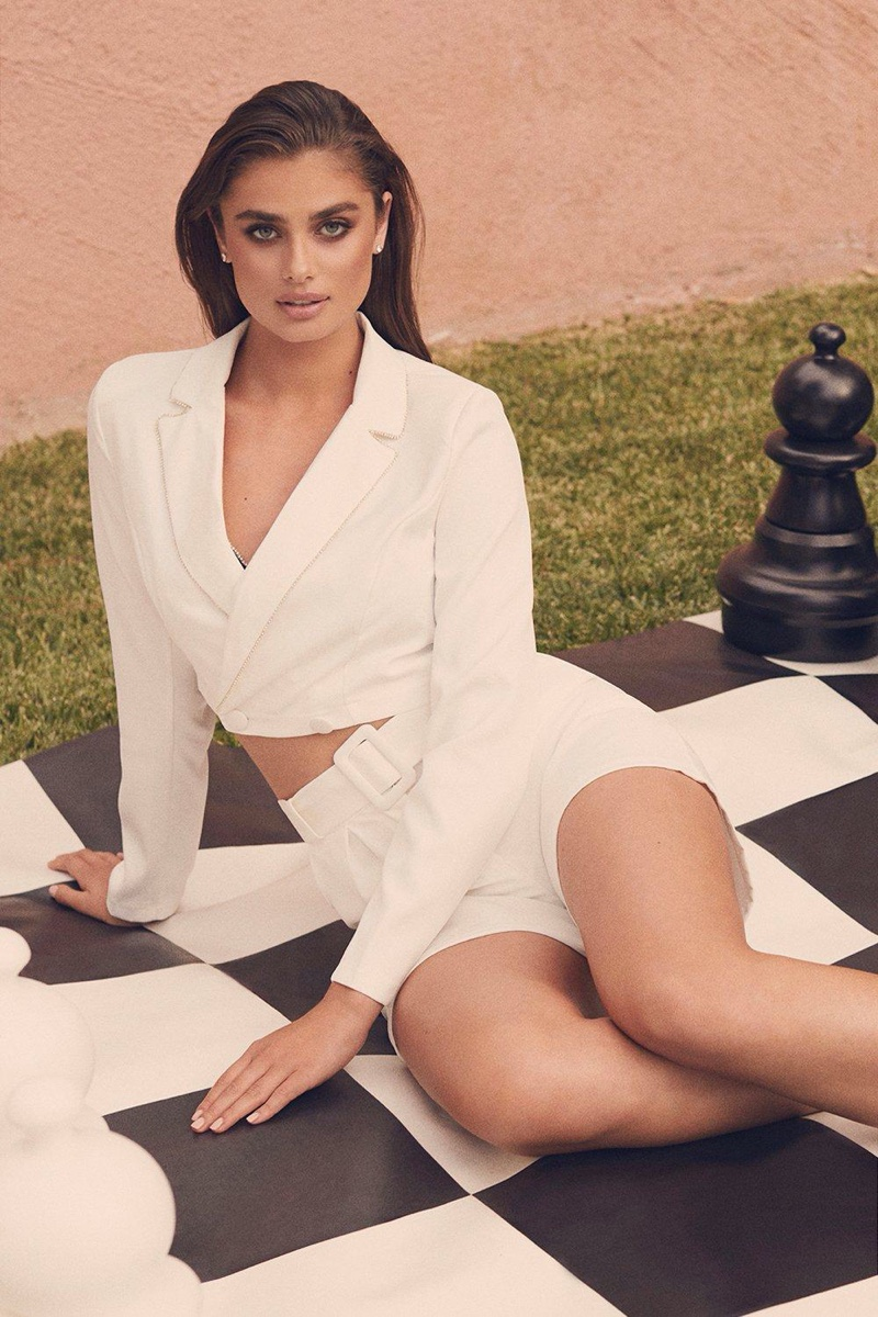 A look from the Taylor Hill x Boohoo collaboration