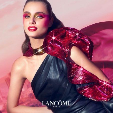 Taylor Hill stars in Lancome Halloween Happiness is My Superpower shoot