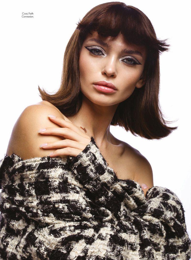 Valeriia Karaman Channels 1960's Beauty for ELLE Arabia