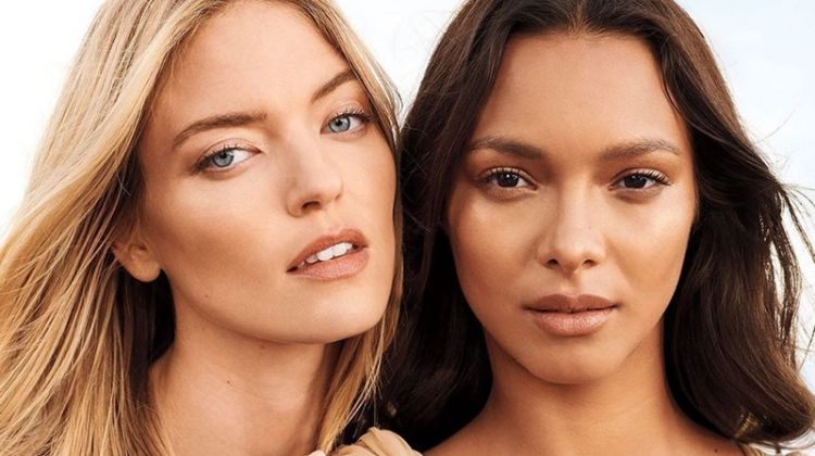 Martha Hunt and Lais Ribeiro star in Victoria's Secret Fine Fragrance campaign