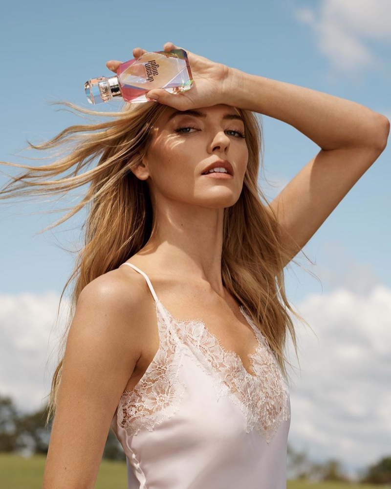 Martha Hunt fronts Victoria's Secret Dream Angel fragrance campaign