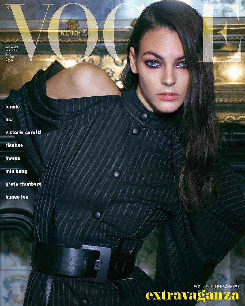 Vittoria Ceretti on Vogue Korea November 2019 Cover