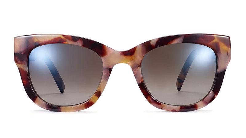 Warby Parker Gemma Sunglasses in Adobe Tortoise $95
