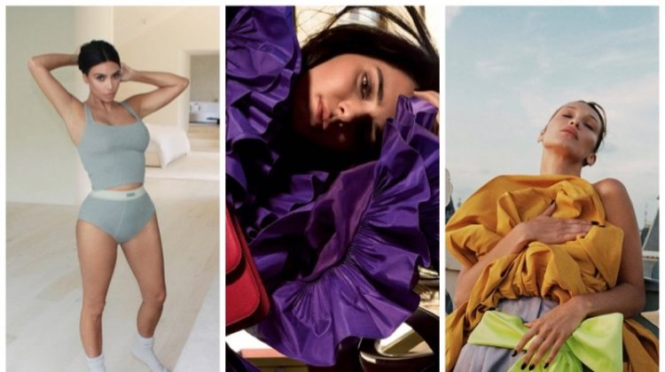 Week in Review | Bella Hadid's New Cover, Kendall Jenner for Valentino, Kim Kardashian in SKIMS + More