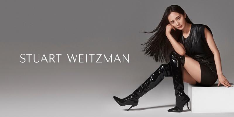 Stuart Weitzman spotlights KATRINA boot worn by Yang Mi for fall-winter 2019 campaign