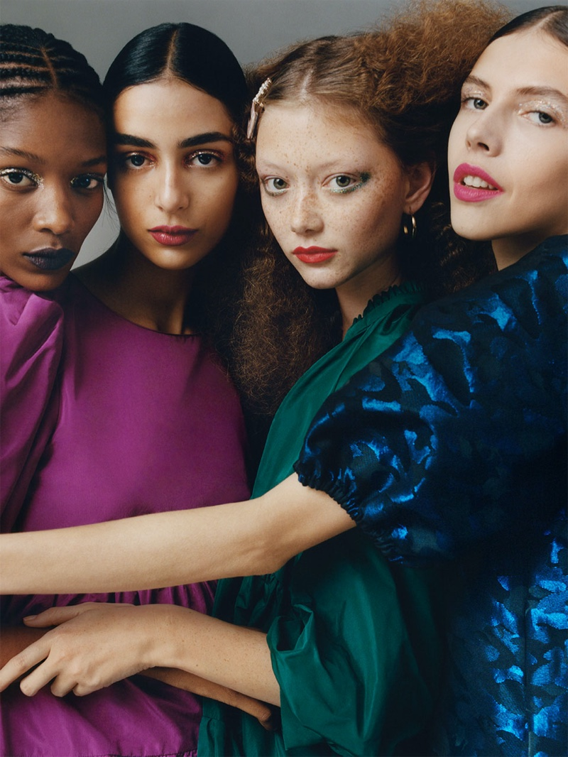 Overbold: Zara TRF Takes On the 1980's Trend for Fall