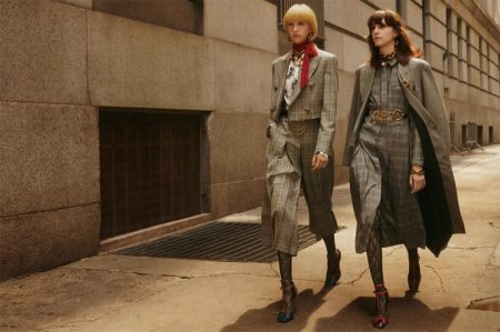 Bente Oort and Evelyn Nagy star in Zara Collection fall-winter 2019 campaign
