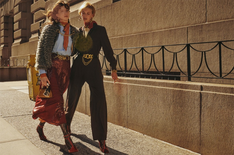 An image from Zara Collection's fall 2019 advertising campaign