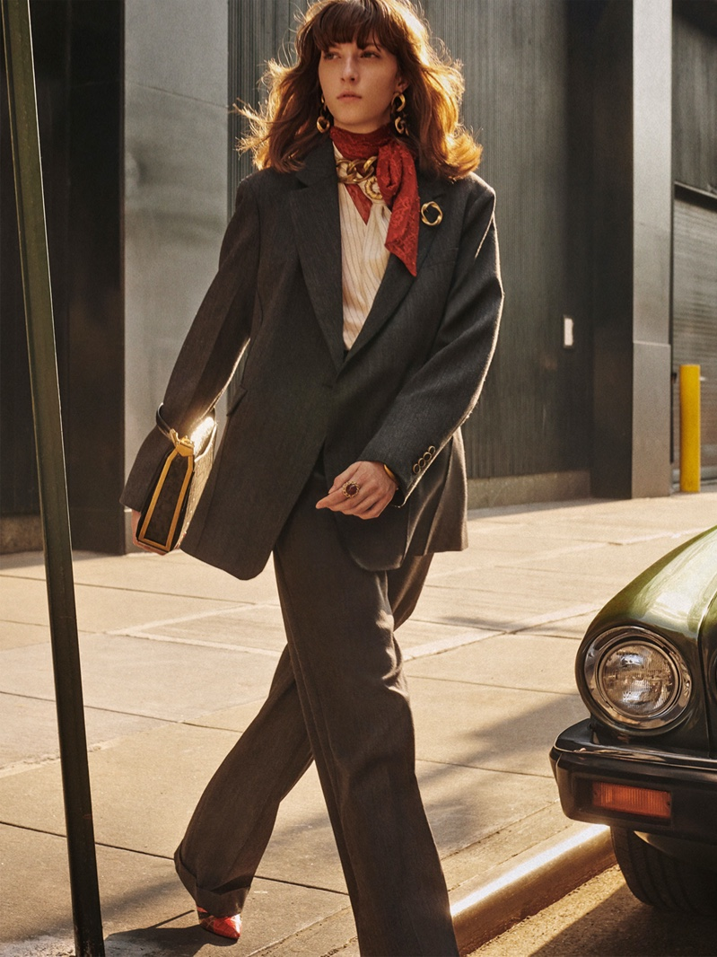 Zara Collection highlights suits for fall-winter 2019 campaign