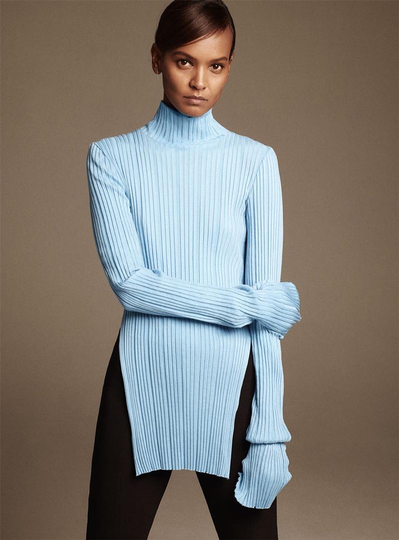 Liya Kebede Stays Minimal in Zara's Fall Looks