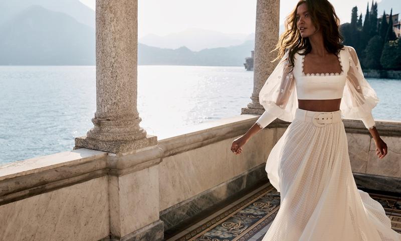 Liya Kebede stars in Zimmermann resort 2020 campaign