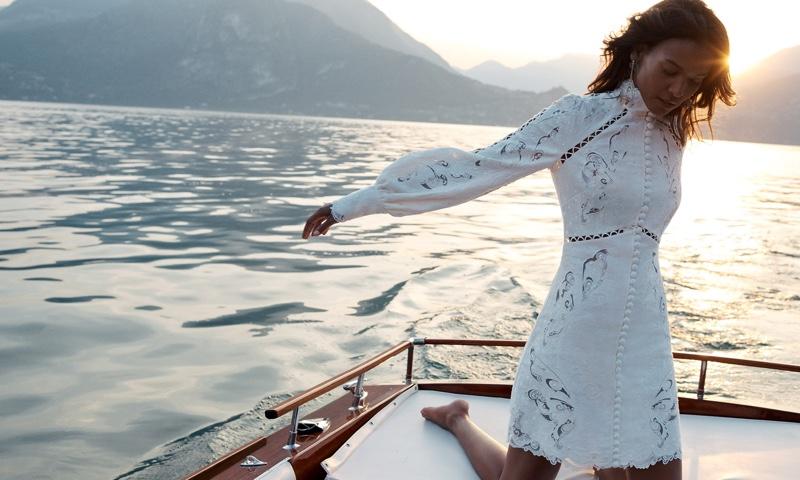Zimmermann taps Liya Kebede for resort 2020 campaign