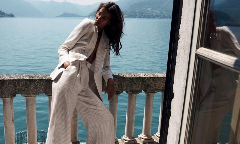 Suiting up, Liya Kebede fronts Zimmermann resort 2020 campaign