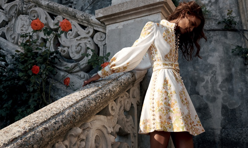 An image from Zimmermann's resort 2020 advertising campaign
