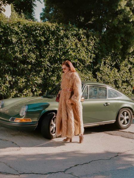 Zoey Deutch Wears 70's Bourgeois Looks for PORTER Edit