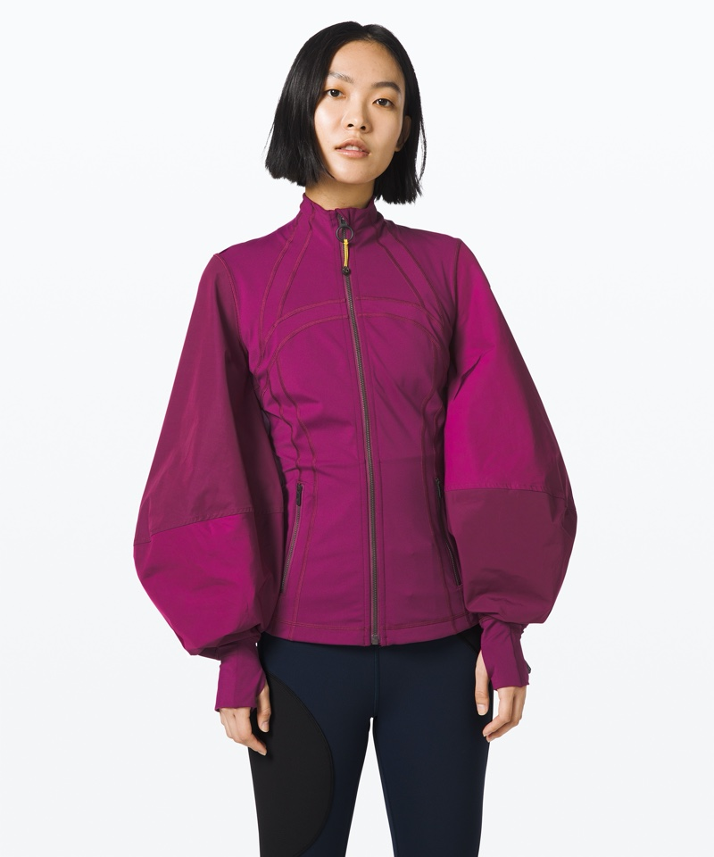 lululemon x Roksanda Face Forward Define Jacket in Marvel/Honeycomb/Candy Pink $178