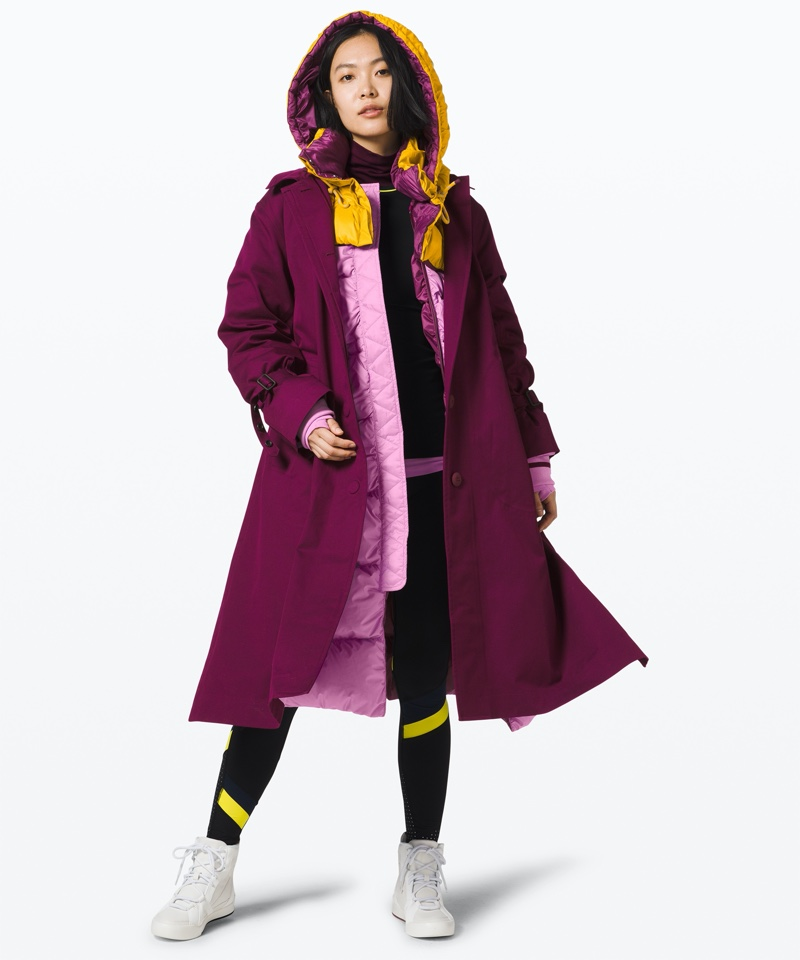 lululemon x Roksanda Inner Expanse Infinity Coat $998