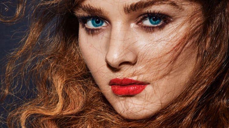 Abigail Tara-lilly Models Glam Beauty Looks for Gala Greece