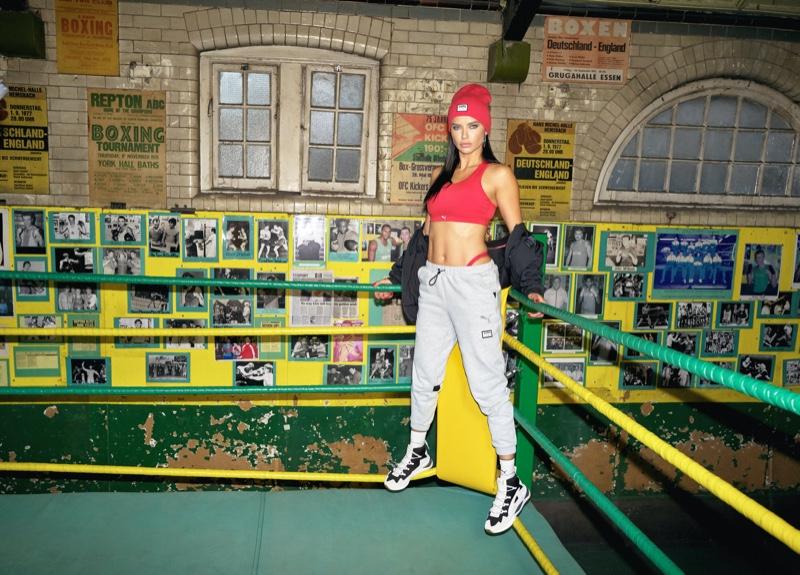 Adriana Lima stars in PUMA x Adriana Lima campaign