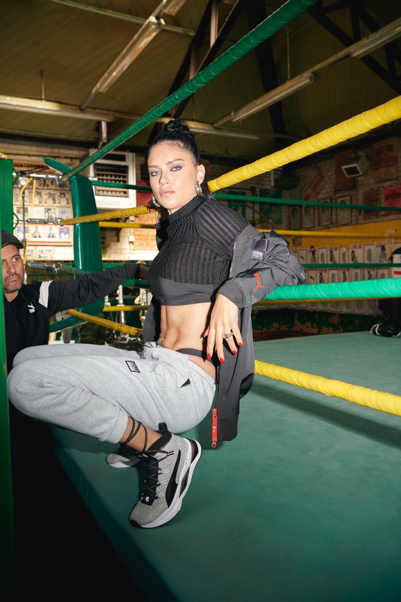 PUMA teams up with Adriana Lima for boxing inspired collaboration