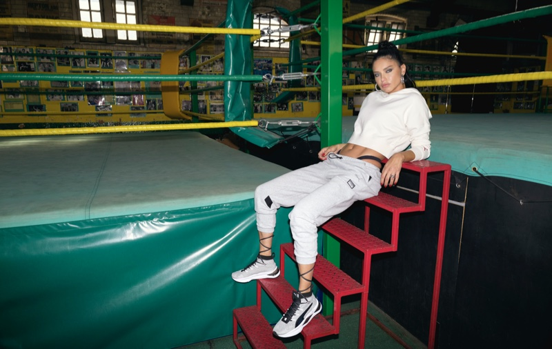 Supermodel Adriana Lima designs an activewear collection with PUMA