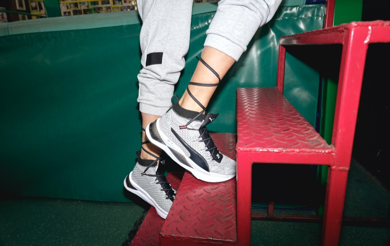 Sneakers from the PUMA x Adriana Lima collection