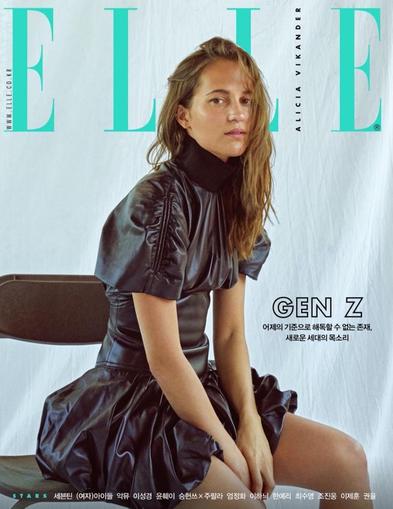 Alicia Vikander on ELLE Korea November 2019 Cover