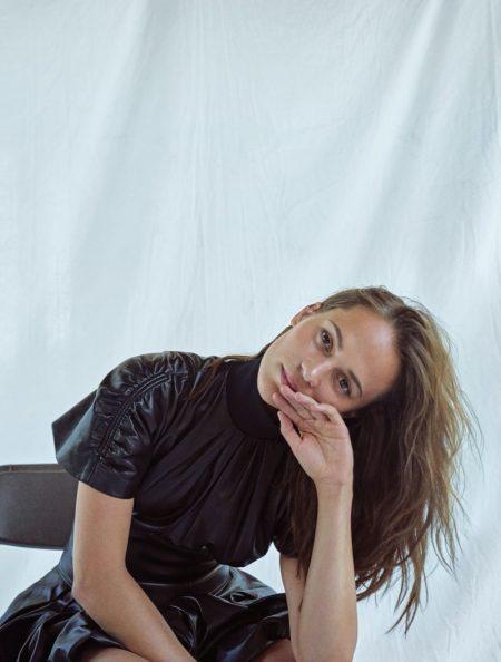 Alicia Vikander Poses in Louis Vuitton for ELLE Korea