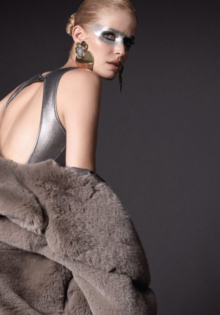 Alisa Ahmann Wears Eclectic Looks for Harper's Bazaar Turkey