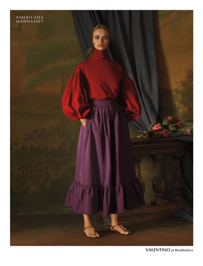 Americana Manhasset spotlights Valentino designs for holiday 2019 campaign