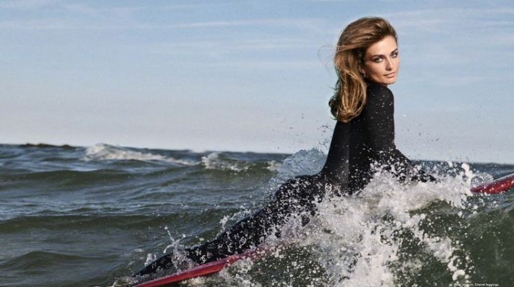 Andreea Diaconu Gets Glam at the Beach for Puss Puss Magazine