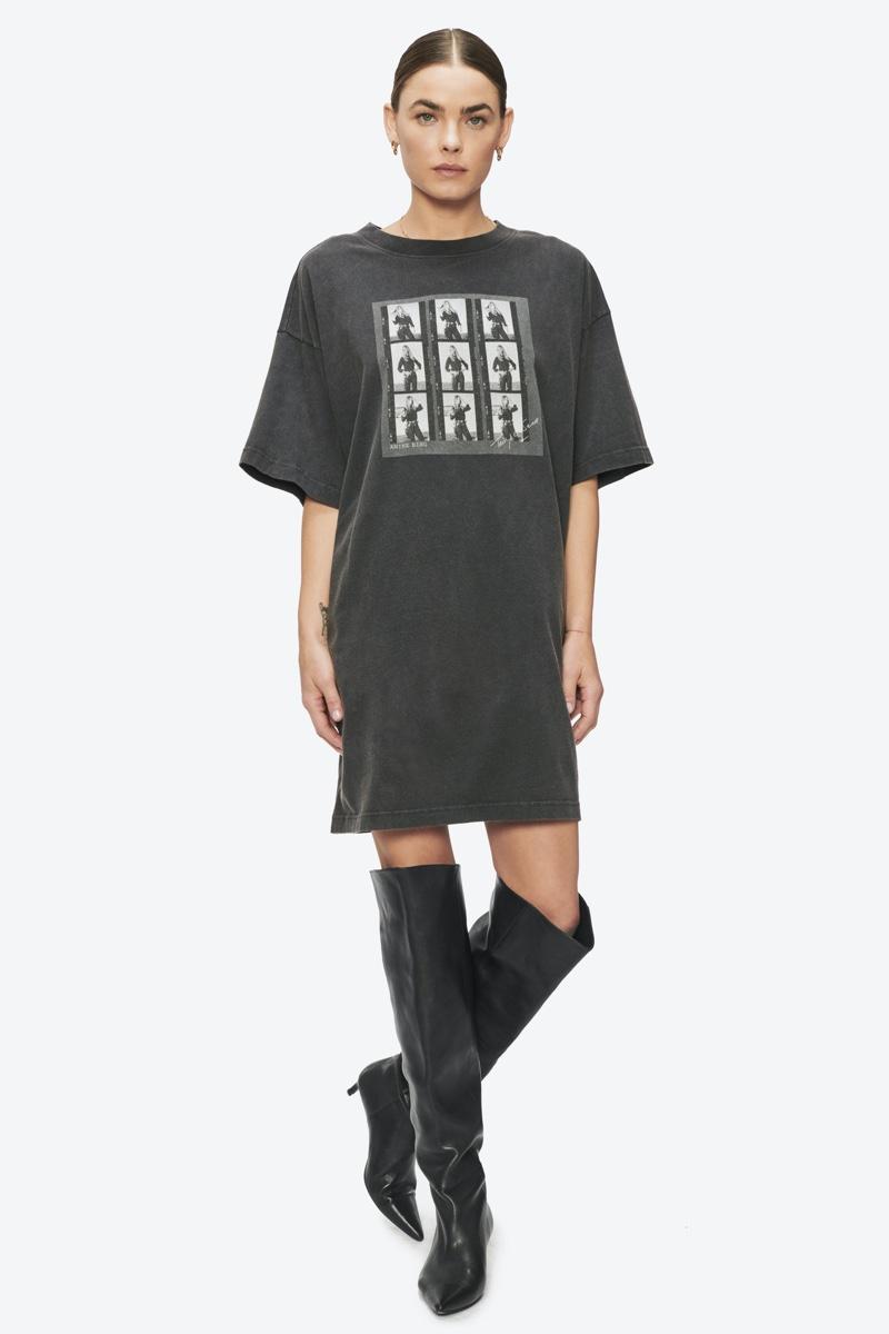 Anine Bing x Terry O'Neill Harley Tee Dress $199