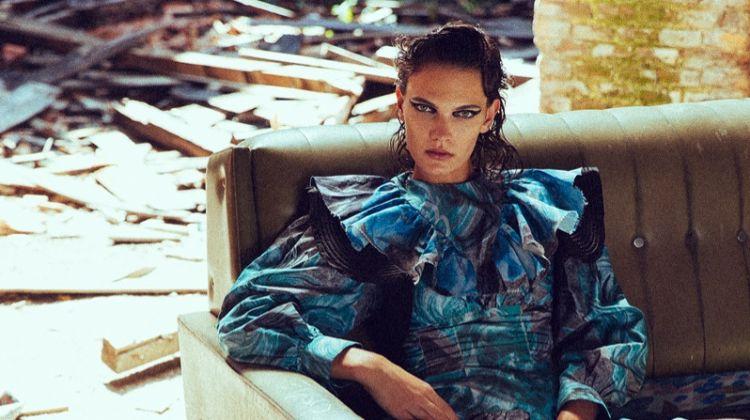 Anja Vuleta Models Cool Girl Styles for Woman Spain