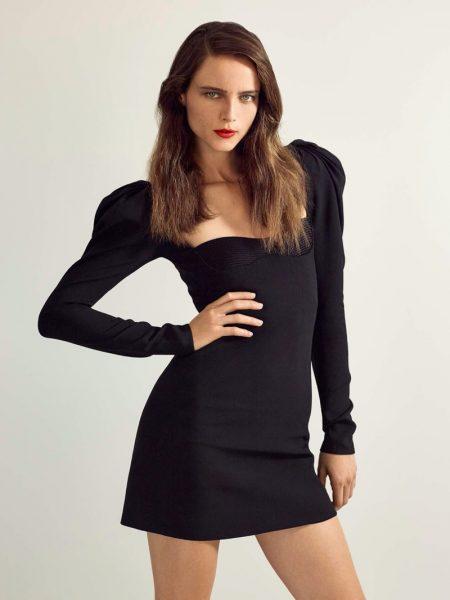 Anna de Rijk Models Evening Looks for PORTER Edit