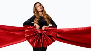 Ariadna Gutierrez is the face of Bubbleroom.com's Holiday 2019 campaign