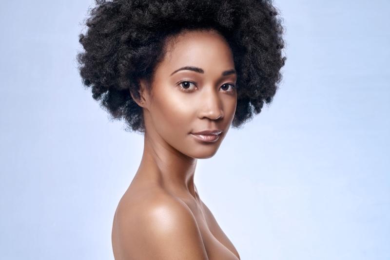 Black Model Afro Beauty