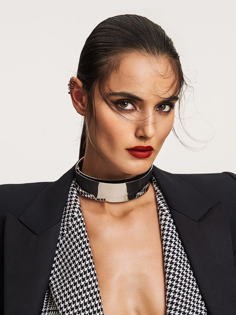 Blanca Padilla Poses in Eclectic Styles for Vogue Taiwan